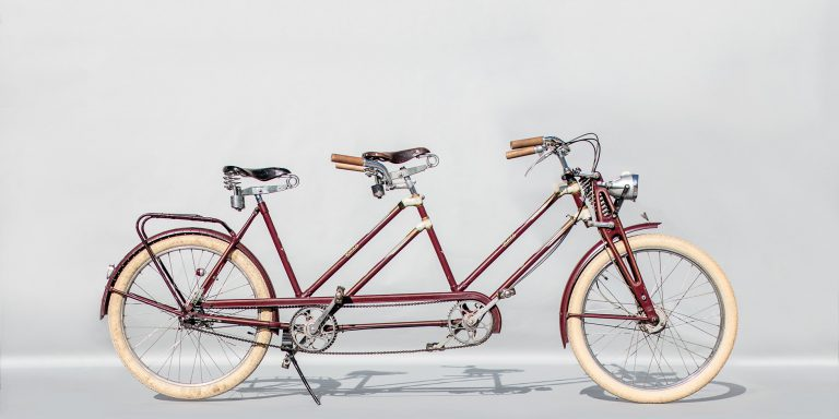 Tandemtours Potsdam – Rixe Brake Bielefeld — Oldtimer-Tandem — ca. 1952