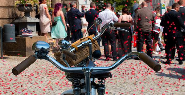 Tandemtours Potsdam – Tandemverleih für Hochzeiten